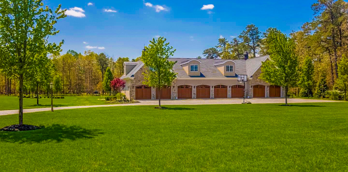 Burlington county 39 s 2nd most expensive home 8 car garage for 16 car garage